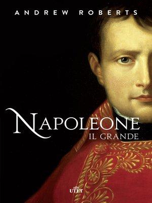 cover image of Napoleone il grande