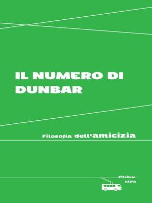 cover image of Il numero di Dunbar
