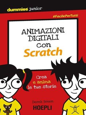cover image of Animazioni digitali con Scratch
