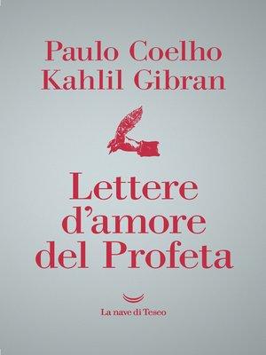 cover image of Lettere d'amore del profeta