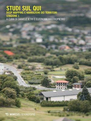 cover image of Studi sul qui