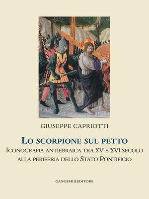 cover image of Lo scorpione sul petto