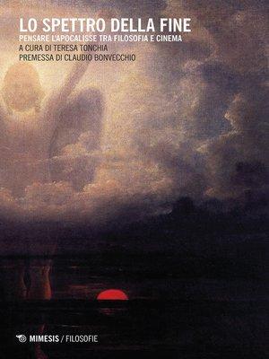cover image of Lo spettro della fine