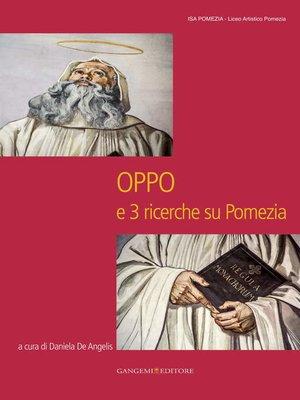 cover image of Oppo e 3 ricerche su Pomezia