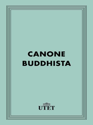 cover image of Canone Buddhista