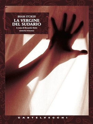 cover image of La vergine del sudario