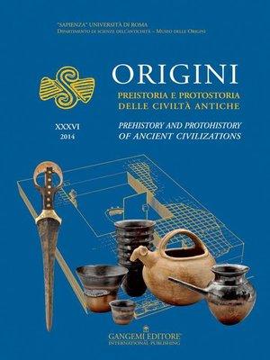 cover image of Origini--XXXVI