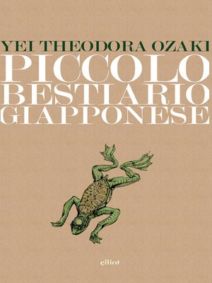 cover image of Piccolo bestiario giapponese