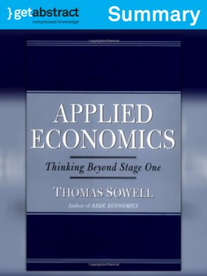 cover image of Applied Economics (Summary)