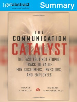 cover image of Communication Catalyst (Summary)