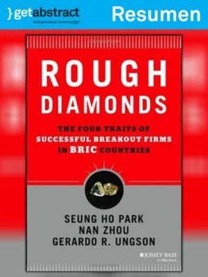 cover image of Diamantes en bruto (resumen)