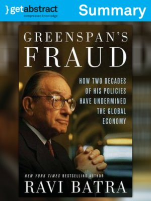 cover image of Greenspan's Fraud (Summary)