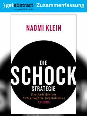 cover image of Die Schock-Strategie (Zusammenfassung)