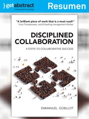 cover image of Colaboración disciplinada (resumen)