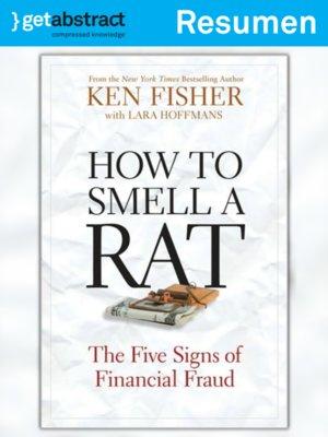 cover image of Cómo oler a una rata (resumen)