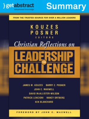 cover image of Christian Reflections on the Leadership Challenge (Summary)