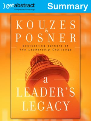 cover image of A Leader's Legacy (Summary)