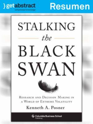 cover image of Al acecho del cisne negro (resumen)