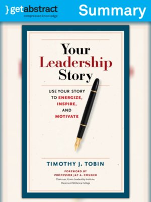 cover image of Your Leadership Story (Summary)