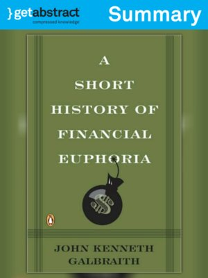 cover image of A Short History of Financial Euphoria (Summary)