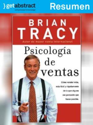 cover image of Psicología de ventas (resumen)