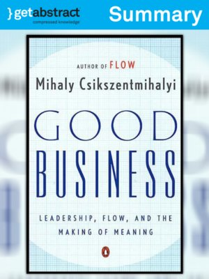 cover image of Good Business (Summary)