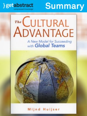 cover image of The Cultural Advantage (Summary)