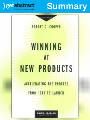 cover image of Winning at New Products (Summary)