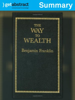 cover image of The Way to Wealth (Summary)