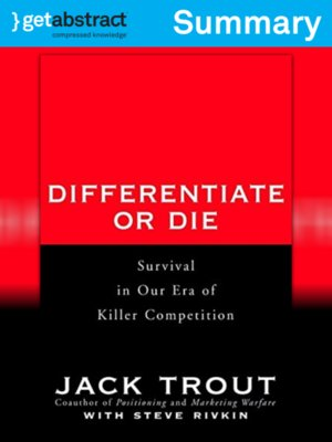 cover image of Differentiate or Die (Summary)