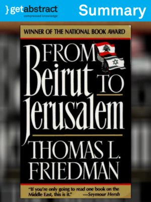 cover image of From Beirut to Jerusalem (Summary)