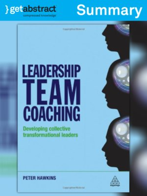 cover image of Leadership Team Coaching (Summary)