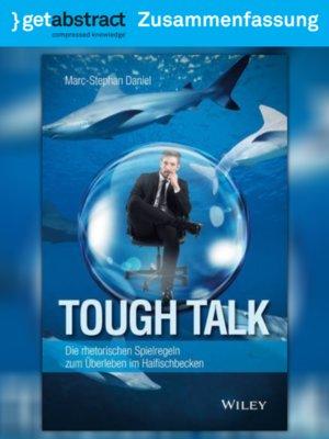 cover image of Tough Talk (Zusammenfassung)