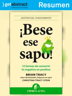 cover image of ¡Bese ese sapo! (resumen)