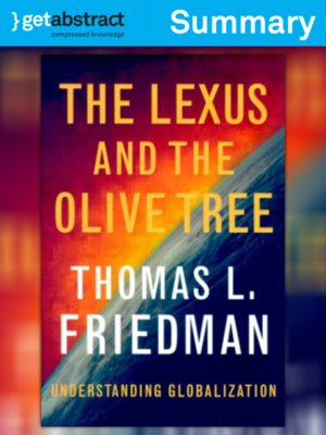 cover image of The Lexus and the Olive Tree (Summary)
