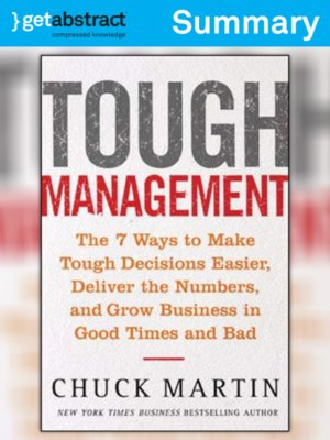cover image of Tough Management (Summary)