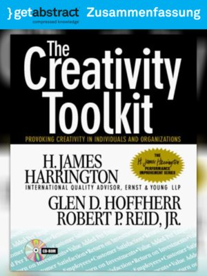 cover image of Ihr Werkzeug auf dem Weg zur Kreativität (Zusammenfassung)