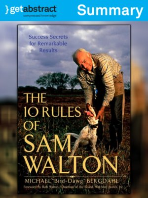 cover image of The 10 Rules of Sam Walton (Summary)