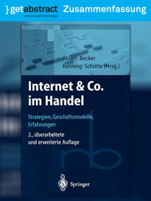 cover image of Internet & Co. im Handel (Zusammenfassung)