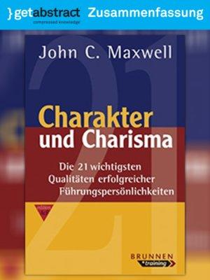 cover image of Charakter und Charisma (Zusammenfassung)