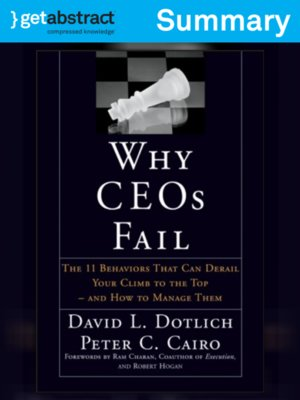 cover image of Why CEOs Fail (Summary)