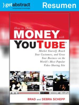 cover image of Cómo ganar dinero con YouTube (resumen)