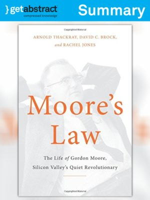 cover image of Moore's Law (Summary)