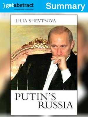cover image of Putin's Russia (Summary)