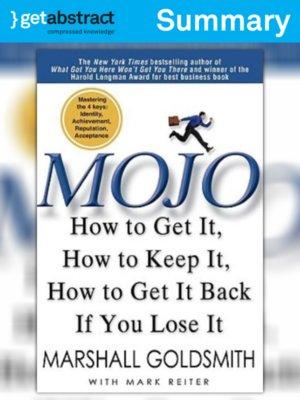cover image of Mojo (Summary)