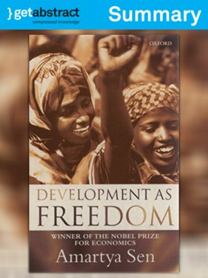 cover image of Development as Freedom (Summary)