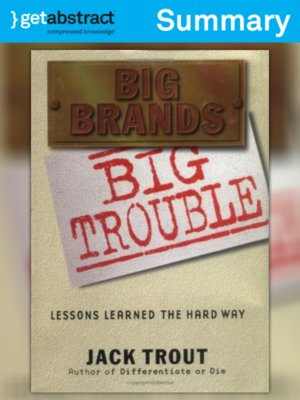 cover image of Big Brands, Big Trouble (Summary)