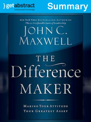 cover image of The Difference Maker (Summary)