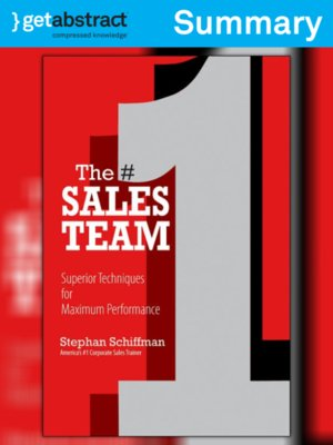 cover image of The #1 Sales Team (Summary)