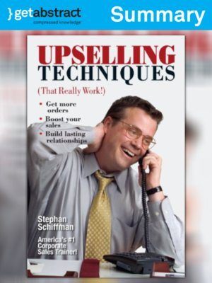 cover image of Upselling Techniques (That Really Work!) (Summary)